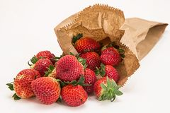 Natural Foods, Strawberry, Strawberries, Fruit Royalty Free Stock Photography