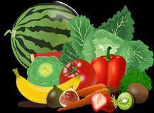 Natural Foods, Vegetable, Produce, Fruit Stock Image