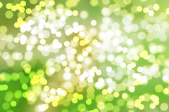 Natural forest bokeh Stock Photography