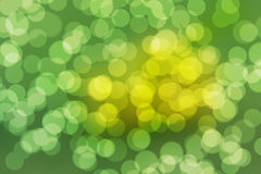 Natural forest bokeh. Royalty Free Stock Images