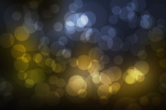 Natural  forest bokeh. Natural spring forest gold bokeh Stock Photography