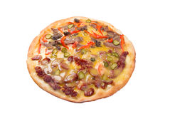Natural form foods. Fast food Pizza. Stock Photos