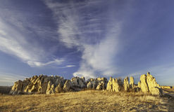 Natural Fort geological landmark Royalty Free Stock Image