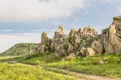 Natural Fort in a prairie Royalty Free Stock Photography