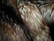 Natural fox fur Royalty Free Stock Image