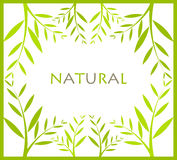 Natural frame Royalty Free Stock Photography