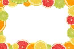 Citrus frame Stock Photo