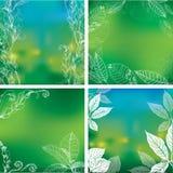 Natural frames backgrounds Stock Photos