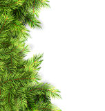 Natural Framework with Fir Twigs. Illustration Natural Framework with Fir Twigs, Copy Space for Your Text - Vector Stock Images