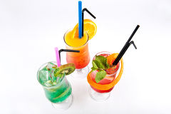 Natural and fresh Cocktails Royalty Free Stock Photo