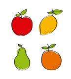 Natural and fresh fruits Stock Photo