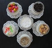 Natural fresh homemade yogurt from cow's milk handmade Stock Photos