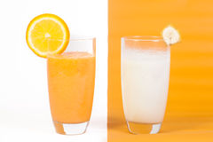 Natural Fruit Juices Stock Photo