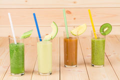 Natural fruit juices Royalty Free Stock Image