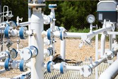 Natural Gas - City Gate Stock Images