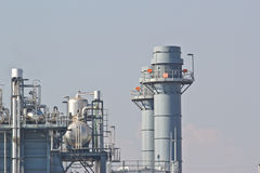Natural Gas Combined Cycle Power Plant Royalty Free Stock Image