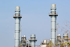 Natural Gas Combined Cycle Power Plant Stock Images