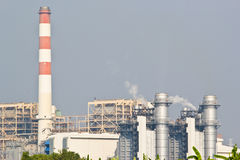 Natural Gas Combined Cycle Power Plant Royalty Free Stock Photo