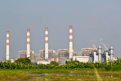Natural Gas Combined Cycle Power Plant Stock Image