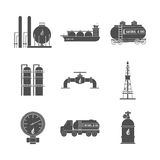 Natural gas design. Natural gas concept with industry icons design, vector illustration 10 eps graphic Stock Photos