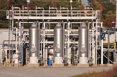 Natural Gas Distribution Center Royalty Free Stock Image