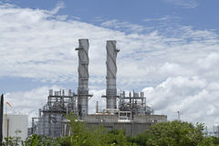 Natural gas factory Royalty Free Stock Photo