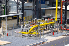Natural gas final filter station Stock Photography