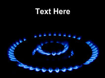 Natural Gas Flame Royalty Free Stock Image
