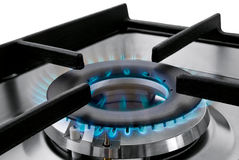 Natural gas flame Royalty Free Stock Photography