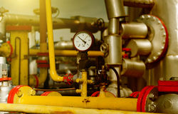 Natural gas industry stock photography