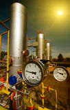 Natural gas industry royalty free stock photography