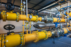 Natural gas inventory unit Royalty Free Stock Images