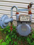 Natural Gas Meter Royalty Free Stock Photos