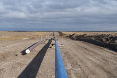 Natural Gas Pipeline Stock Photo