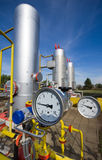Natural gas plant Royalty Free Stock Photography
