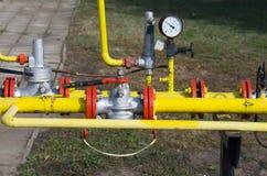 Natural gas plant stock photos