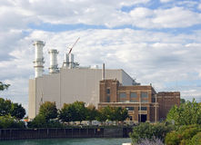 Natural Gas Power Plant Stock Photos
