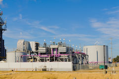 Natural Gas power station Royalty Free Stock Images