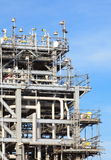 Natural gas processing site Stock Photos