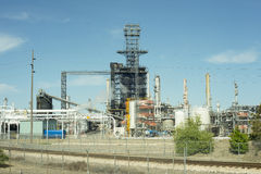 Natural Gas Refinery Royalty Free Stock Photos