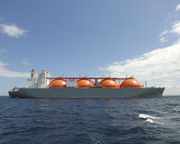 Natural Gas Ship Stock Photos