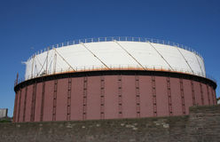 Natural gas storage tank Stock Photos