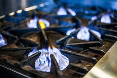 Natural Gas Stove Stock Images