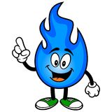 Natural Gas Talking Stock Image