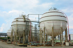 Natural Gas Tank Royalty Free Stock Images