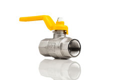Natural gas tap Royalty Free Stock Photo