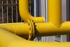 Natural gas transportation Royalty Free Stock Photos