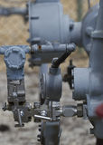 Natural gas wellhead royalty free stock image