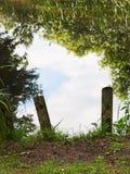 Natural gateway - psychology metaphor. Stock Photos