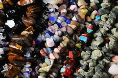 Natural gem  stones Royalty Free Stock Images